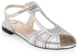 Fendi Peep-Toe Sandals
