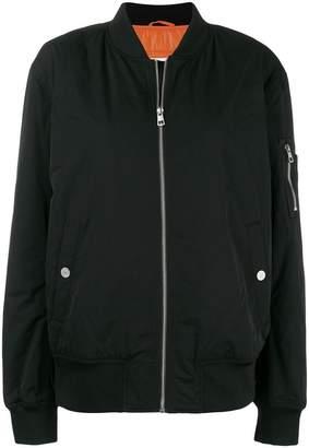 Calvin Klein Jeans graphic bomber jacket