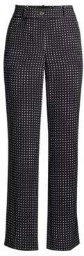 Equipment Lita Nostalgia Polka Dot Silk Trousers