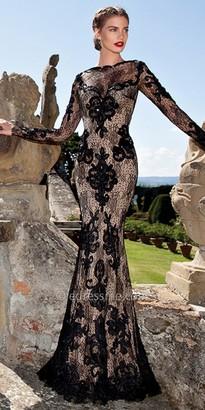 Tarik Ediz Dalilia Evening Dress $1,144 thestylecure.com