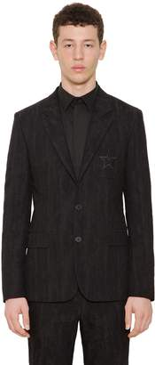 Givenchy Cotton & Wool Moiré Jacquard Jacket