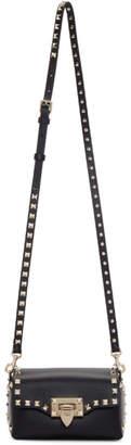 Valentino Black Garavani Mini Rockstud Cross Body Bag