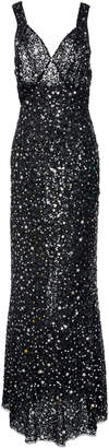ATTICO Sequin-Embellished Gown