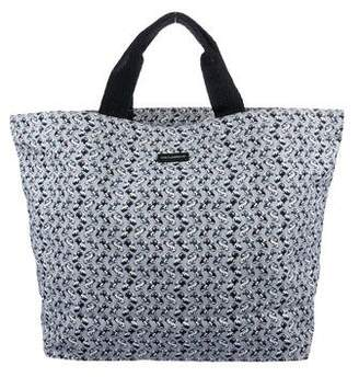 Dolce & Gabbana Printed Canvas Tote w/ Tags