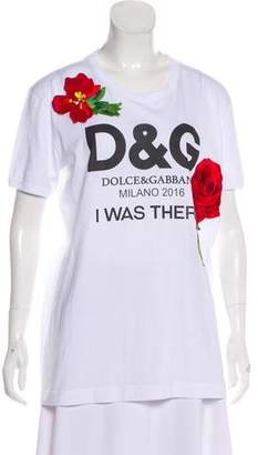 Dolce & Gabbana 2016 Embroidered T-Shirt w/ Tags