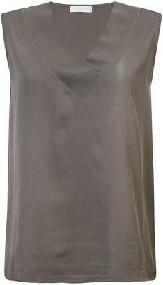 Fabiana Filippi V neck sleeveless blouse