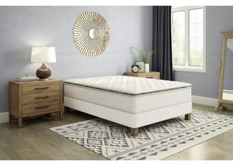 Signature Sleep Gold Siesta 13 Inch Independently Encased Coil Pillow Top Mattress and Foundation