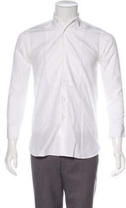 Saint Laurent Woven Tuxedo Shirt