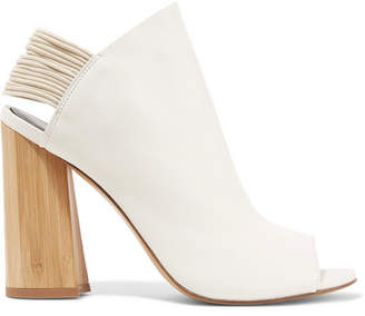 3.1 Phillip Lim Drum Leather Slingback Sandals - White