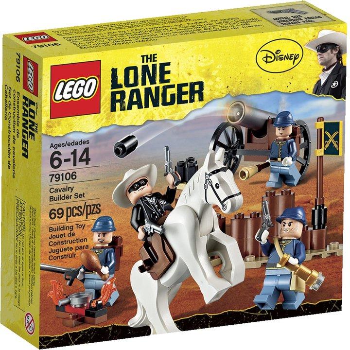 Lego Lone Ranger Cavalry Builder Set 79106