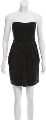 See by Chloe Strapless Mini Dress