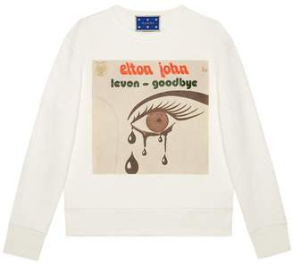 Gucci Elton John sweatshirt