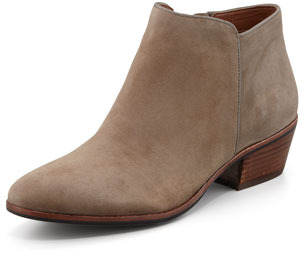 Sam Edelman Petty Suede Ankle Boot, Tan