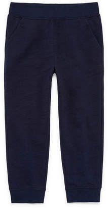 Okie Dokie French Terry Jogger Pants-Toddler Boys