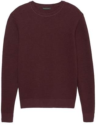 Banana Republic SUPIMA® Cotton Waffle-Knit Sweater