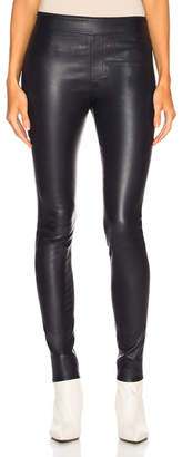 Helmut Lang Leather Legging