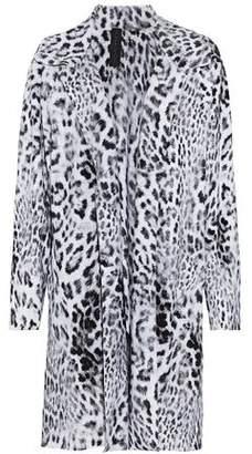 Norma Kamali Leopard-Print Ponte Jacket