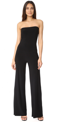 Norma Kamali Strapless Jumpsuit $170 thestylecure.com