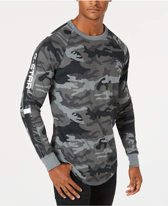 G Star Men's Long-Sleeve Camo T-Shirt, Created for Macy's