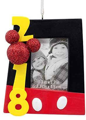Hallmark Disney Mickey Mouse Picture Frame 2018 Ornament Movies & TV