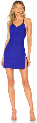 by the way. Eden Cowl Neck Slit Dress