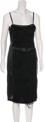 Philosophy di Alberta Ferretti Silk Pleated Dress w/ Tags