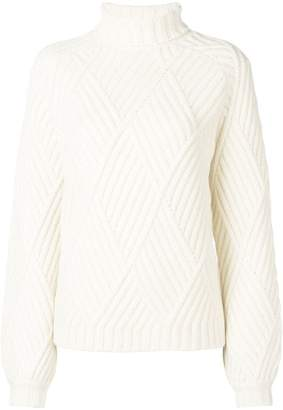 Victoria Beckham Victoria roll-neck knitted sweater