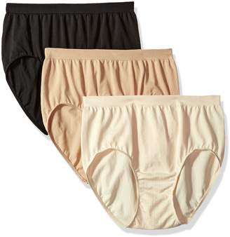 Bali Women's Comfort Revolution 3-Pack Brief