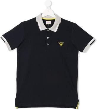 Emporio Armani Kids TEEN contrast-trim polo shirt