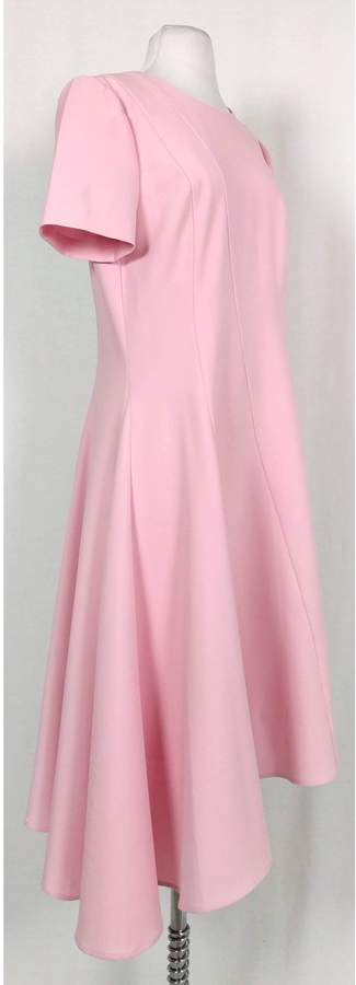 Black Halo- Pink Midi Dress Sz 12