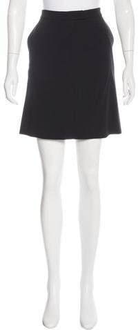 Ann DemeulemeesterAnn Demeulemeester Wool Knee-Length Skirt