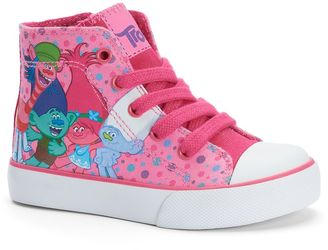 DreamWorks Trolls Toddler Girls' High-Top Sneakers $39.99 thestylecure.com