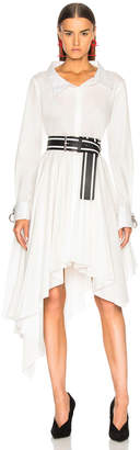Monse Pleated Shirt Dress