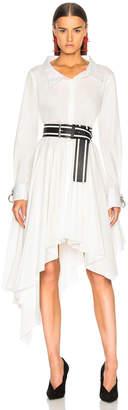 Monse Pleated Shirt Dress