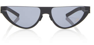 Mykita Kitt Cat-Eye Stainless Steel Sunglasses