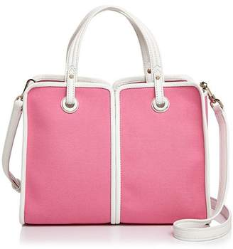 Kate Spade Sam Medium Canvas Plunge Satchel