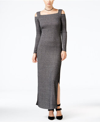 chelsea sky Cold-Shoulder Maxi Dress, Only at Macy's $98 thestylecure.com