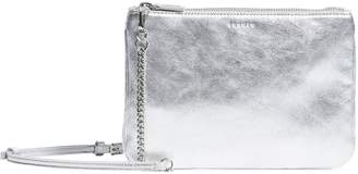 Sandro Leather Dual Zip Cross Body Bag