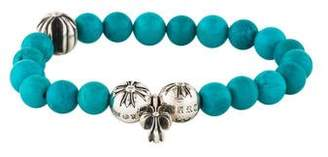 Chrome Hearts Turquoise Bead Bracelet