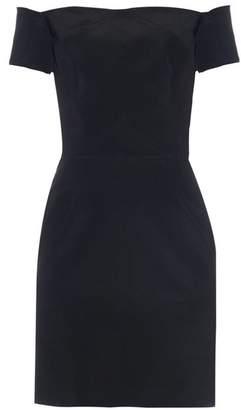 Raey Off-the-shoulder silk dress