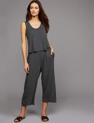 A Pea in the Pod Pull Over Mock Layer Nursing Jumpsuit