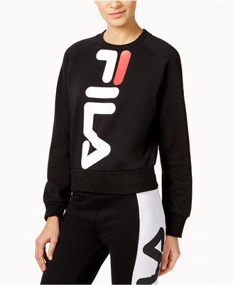 Fila Kristy Cropped Sweatshirt $68 thestylecure.com