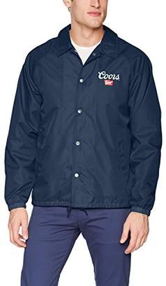 Brixton Men's Coors Banquet Windbreaker Jacket