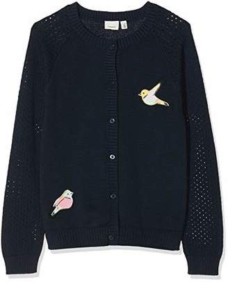 Name It Girl's Nmftasse Ls Knit Card Long Sleeve Top,(Size:)