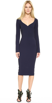 Antonio Berardi Long Sleeve Dress $1,560 thestylecure.com