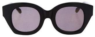 Karen Walker Round Mirror Sunglasses