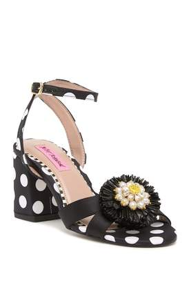 Betsey Johnson Asha Polka Dot Sandal