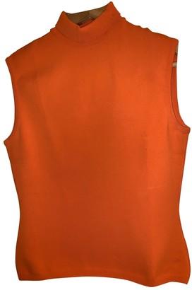 Gianni Versace Orange Top for Women Vintage