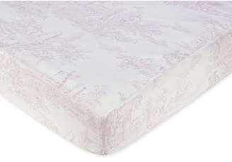 JoJo Designs Sweet French Toile Fitted Crib Sheet