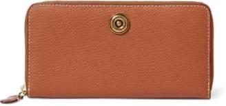 Ralph Lauren Leather Zip Wallet